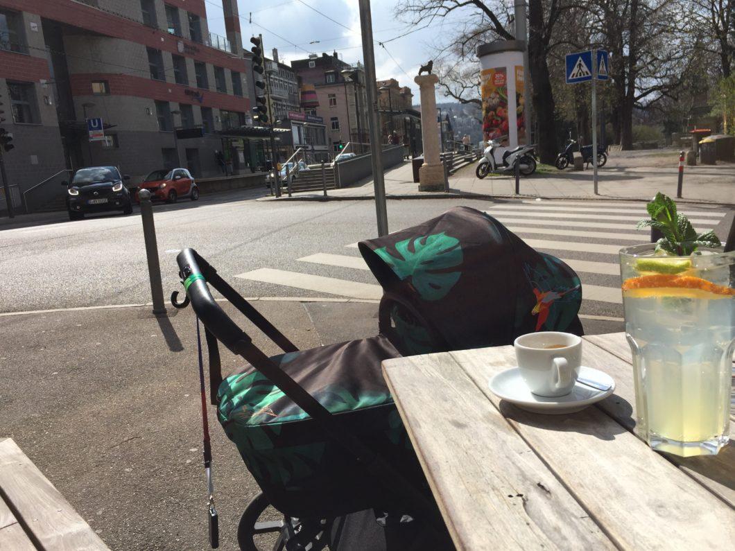 Stuttgart mit Baby